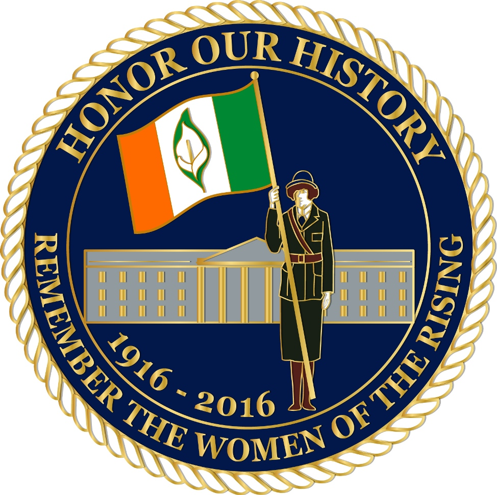 Women of the Easter Rising Pin