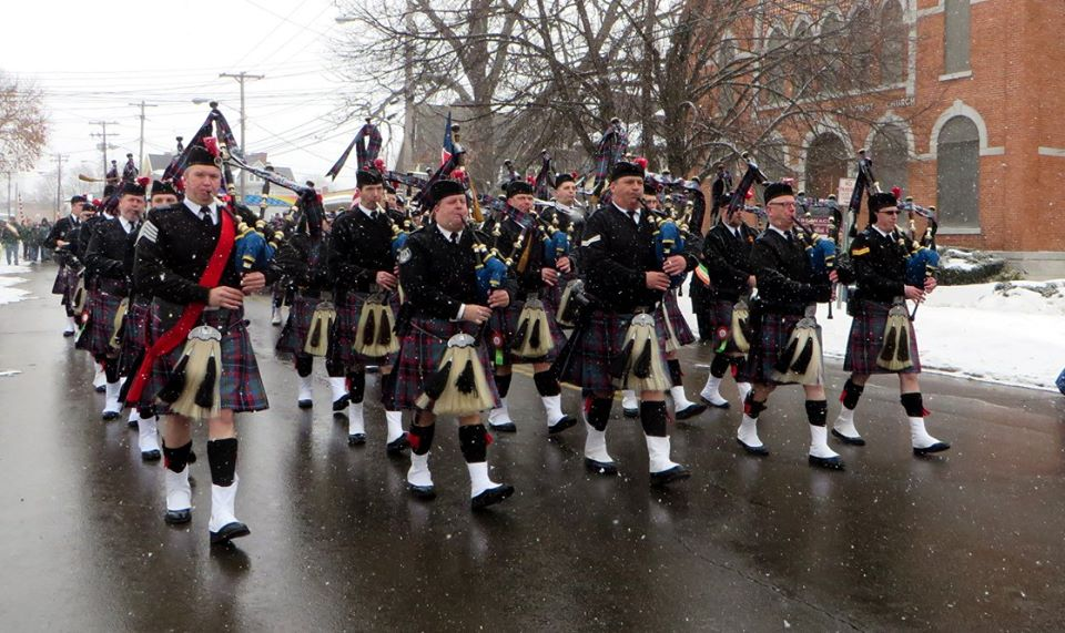 Participating Pipe Band
