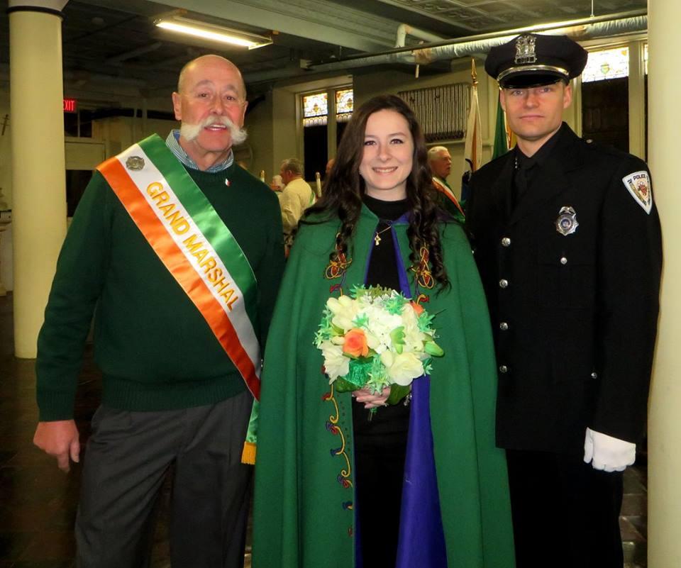 Grand Marshall Bill Newland, Maid of Erin, Tess Hatton, Official Starter Matt Lewis