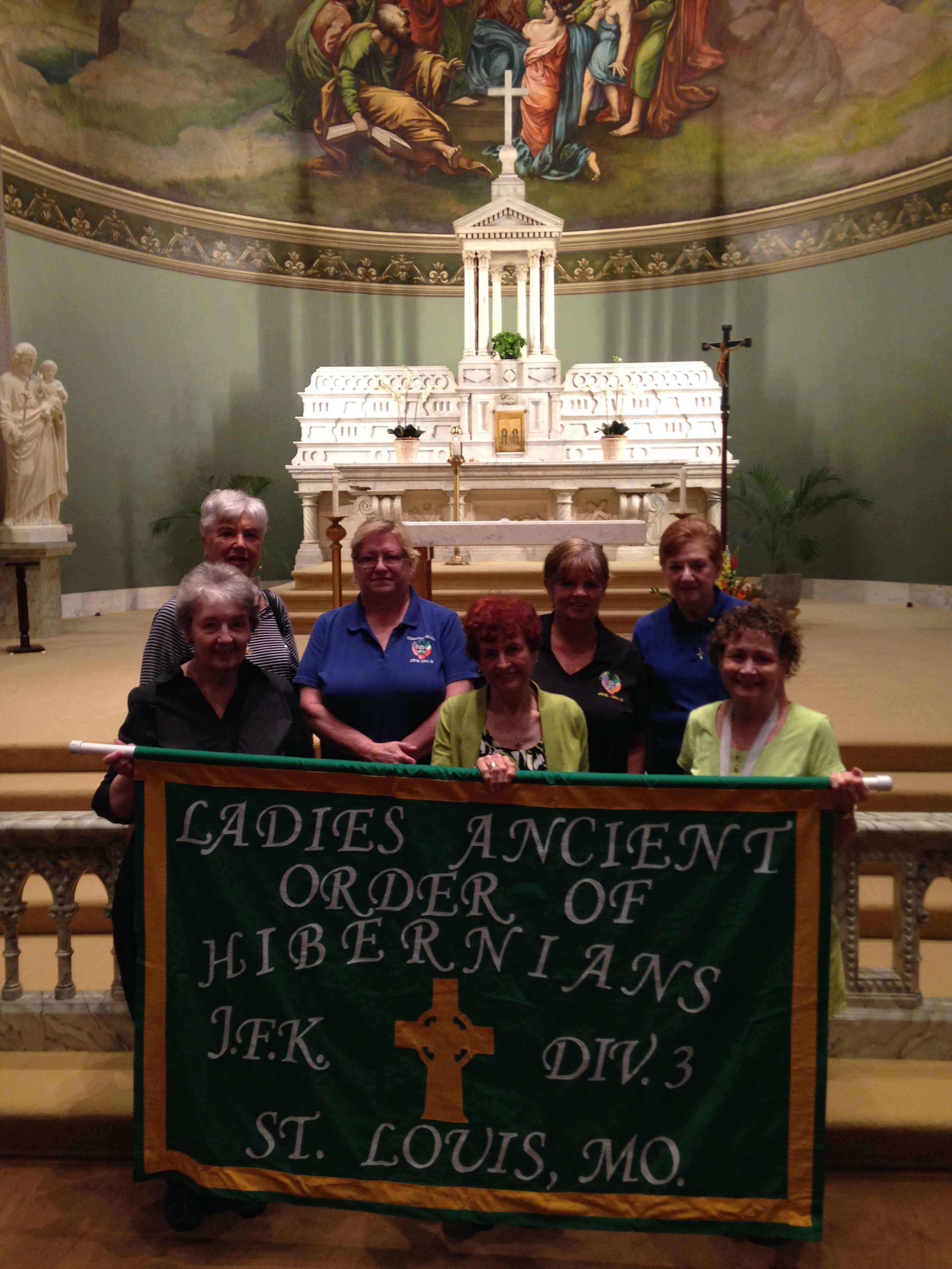 JFK Div #3 Our Lady of Knock Mass