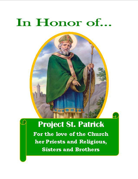 Our new Project St. Patrick Card for All Occasions