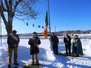 Broome County Flag Raising